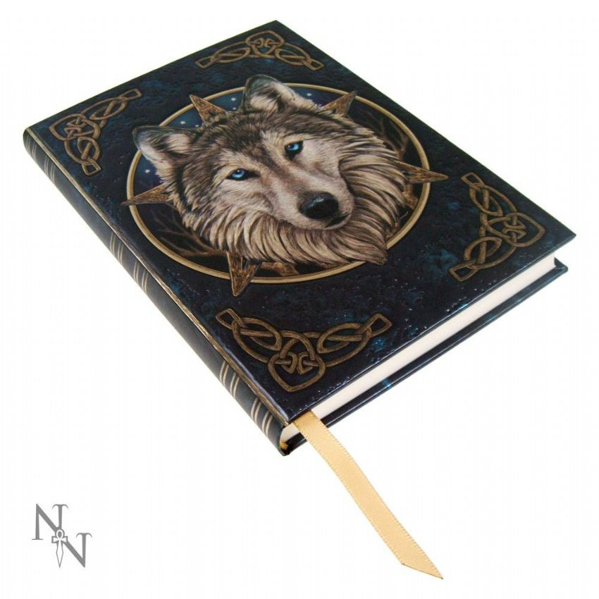 Journal~ Lisa Parker Blank Journal Book Embossed The Wild One~ By Folio Gothic Hippy B0139A3